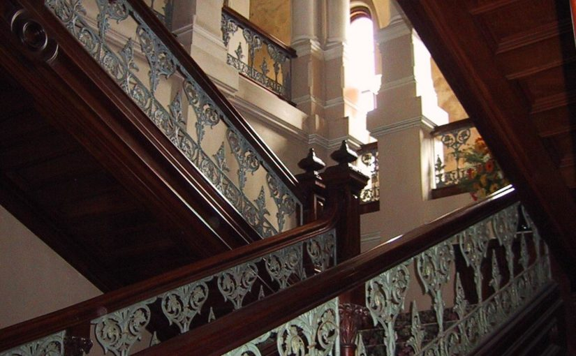 Victorian style staircase